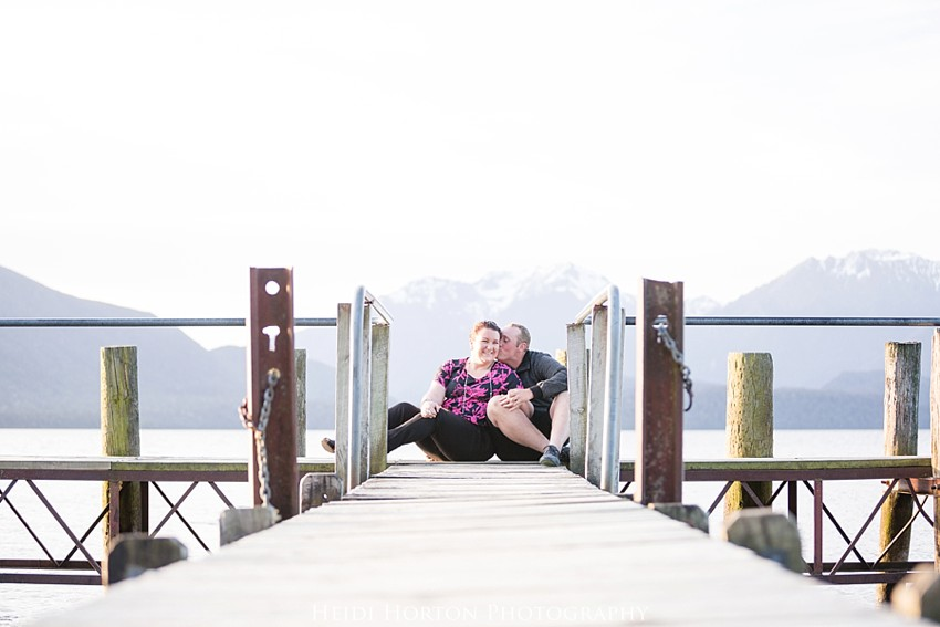 anna sanford, te anau engagement photos, te anau wedding photographer, engagement portraits lakeside, Heidi Horton Photography