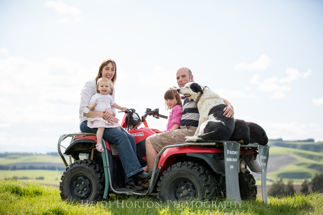 Heidi Horton Photography family portraits on the farm