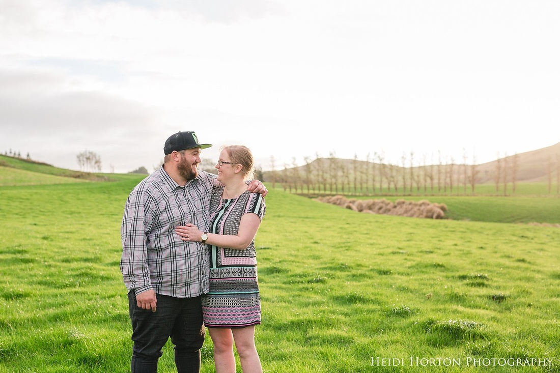 southland farm engagement portraits, southland wedding photographer, photos on the farm southland, fun candid engagement photos, Heidi Horton Photography