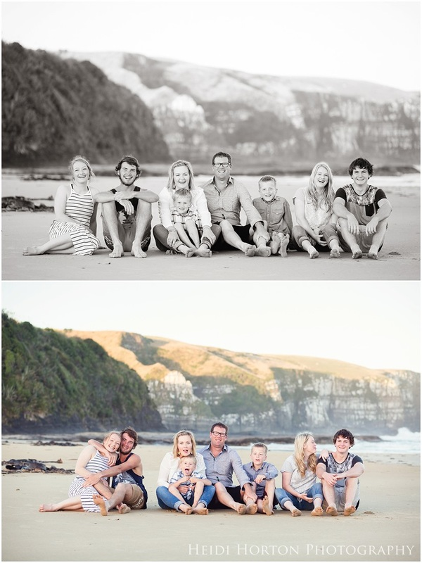 Heidi Horton Photography, family photos at the beach, Jacks Bay, Catlins, Southland photographer