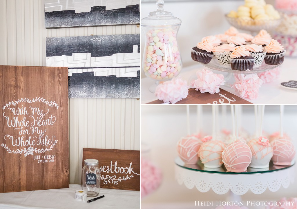 wooden signs wedding, wedding candy bar, cake pops wedding, Kelvin Hotel Invercargill wedding, Invercargill rustic vintage wedding, Invercargill wedding venues, Heidi Horton Photography