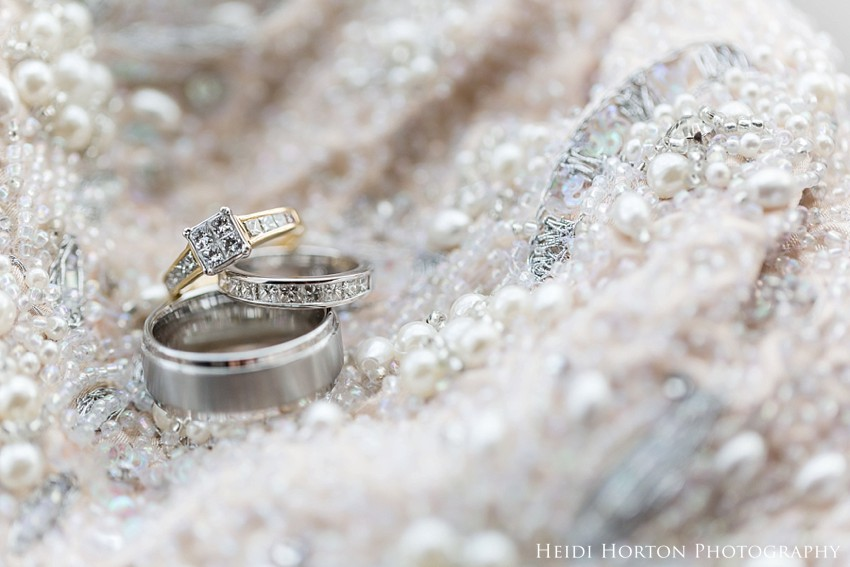 How I photograph wedding rings Macro Photography Heidi Horton