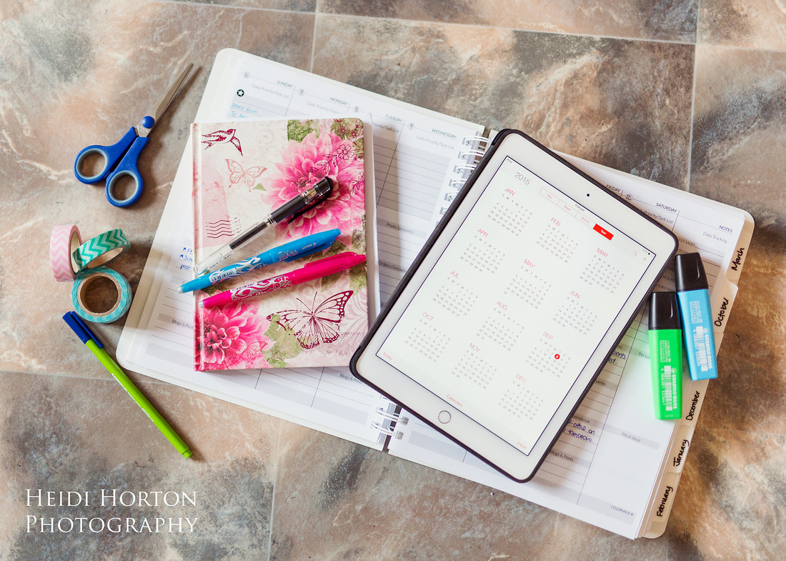 Heidi Horton Photography, client workflow organiser, photographers planner