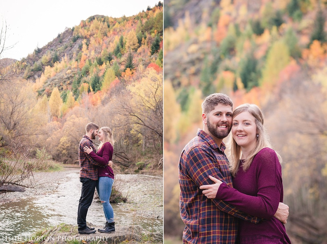 autumn engagement session, Arrowtown engagement session, Arrowtown photographer, fun natural beautiful photos Queenstown, Central Otago engagement photos, Central Otago wedding photographer, Heidi Horton Photography
