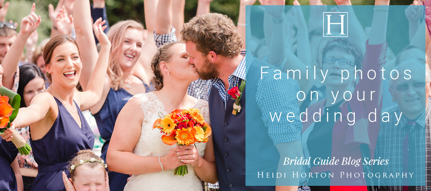 family photos on a wedding day, planning for a wedding, wedding photographers, award winning professional wedding photographers, husband and wife wedding photography team, Heidi Horton Photography