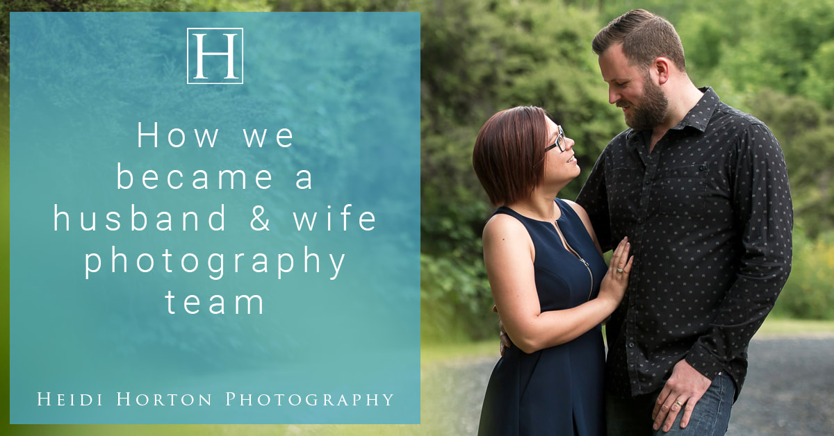 husband and wife wedding photographers, Heidi and Matt Horton, Heidi Horton Photography