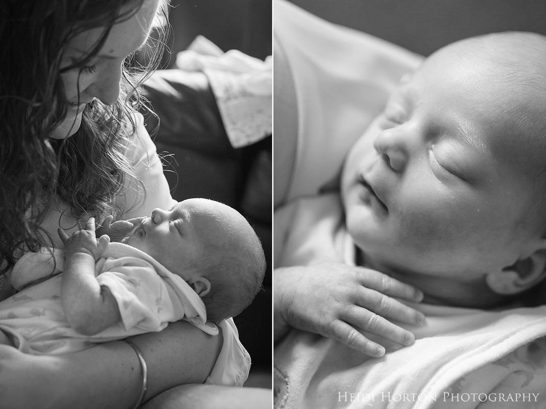 lifestyle newborn photos twins, identical twins newborn photos, lifestyle newborn photos gore, newborn photos at home, Heidi Horton Photography
