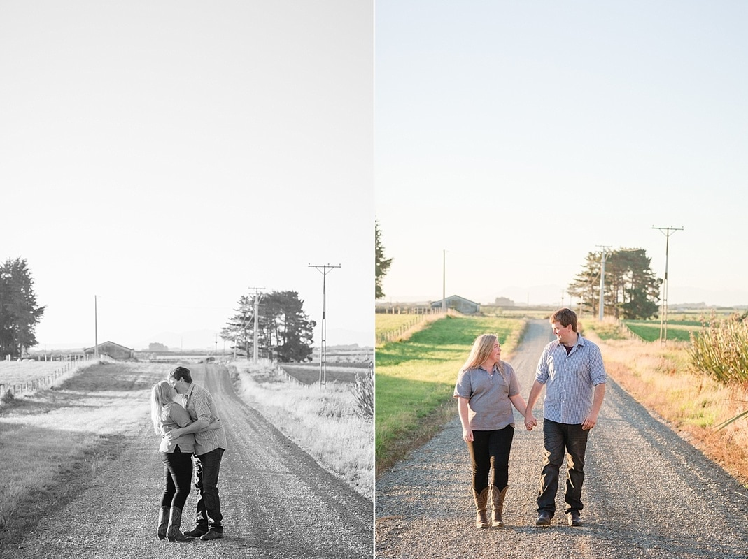 Central Otago wedding photographer, southland wedding photographer, southland engagement session on the farm, photos on the farm, Heidi Horton Photography